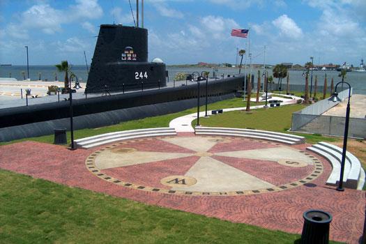 Seawolf Park Memorial Plaza