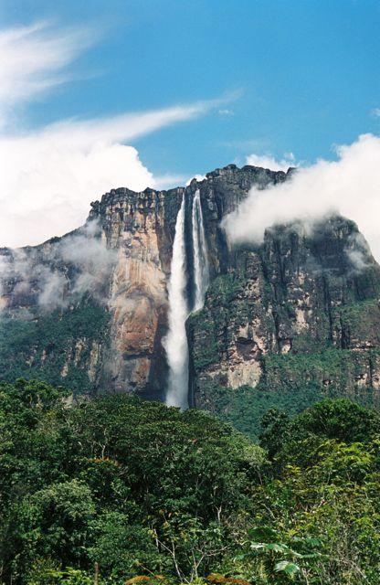 Angel Falls in Venezuela (Image: davidkjelkerud)