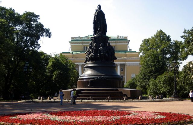 Catherine the Great, St. Petersburg, Russia (Image: vsmoothe)