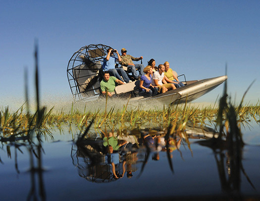 Airboat in the Florida Everglades, United States (Image: Experience Kissimmee, Florida)