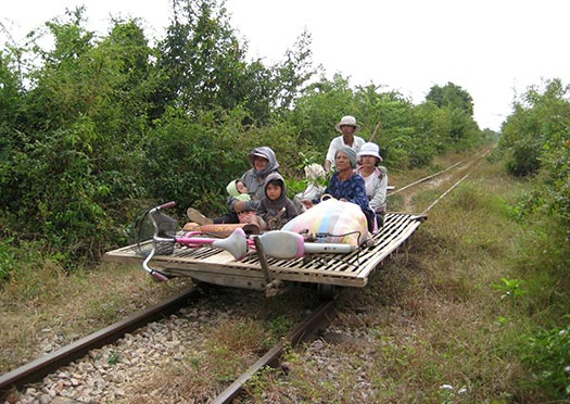 Bamboo train (Image: paularps)