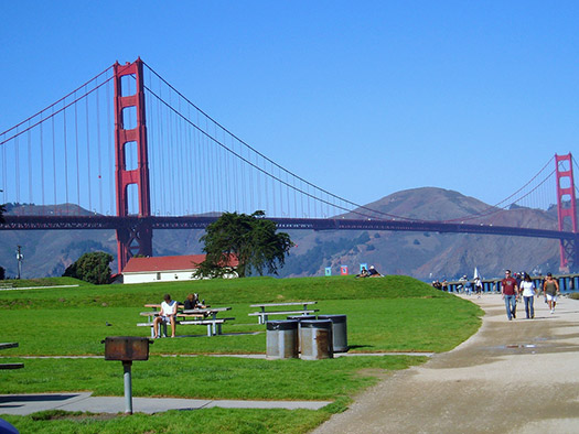 Crissy Field, Golden Gate National Park (Image: -Marlith-)