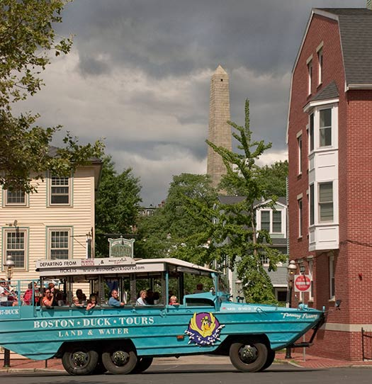 Duck boat (Image: Boston Duck Tours)