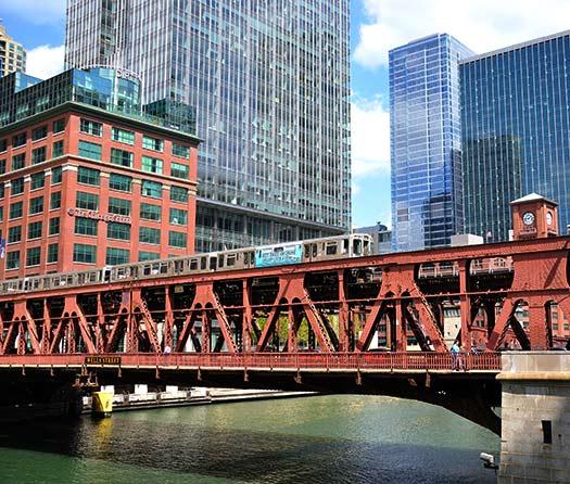 """The El"" in Chicago (Image: vxla)"