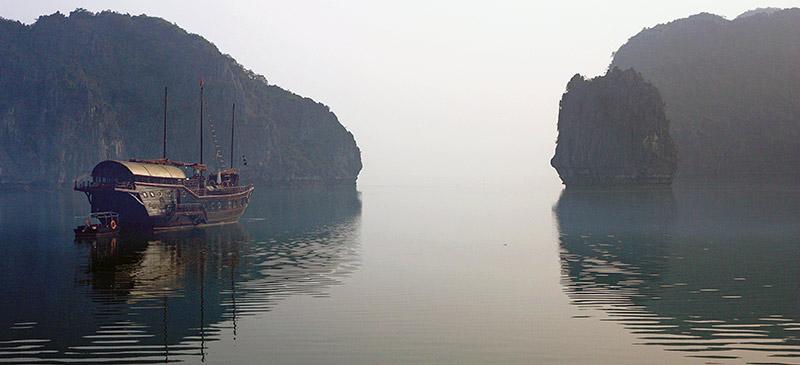 Junk boat (Image: Andrea Schaffer)