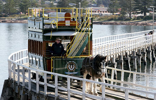 Horse-drawn tram  (Image: City of Victor Harbor)