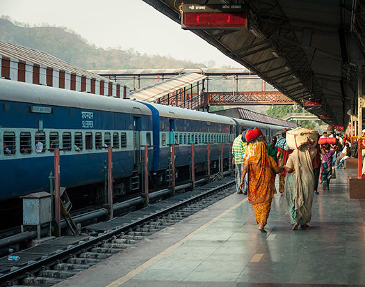 Indian sleeper train (Image: Wikipedia)