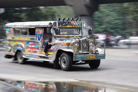 Jeepney in Manilla, Phillippines (Image: Stefan Munder)