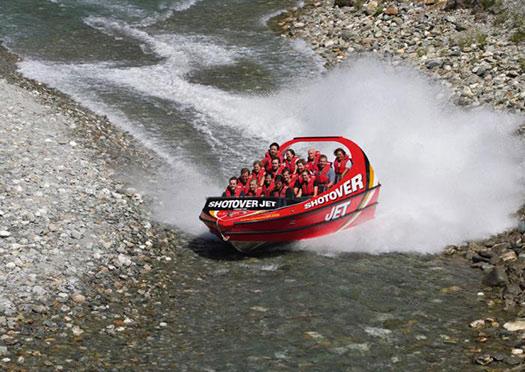 Jet boat (Image: Shotover Jet)