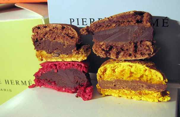 Creamy, indulgent centers are a Pierre Hermé staple (Image: Canon S3 Is)