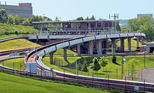 Personal rapid transit (Image: Wikipedia)