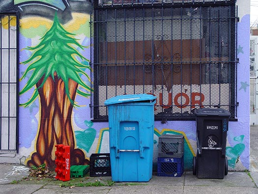 Recycling and composting is enshrined in San Francisco's by-laws (Image: Franco Folini)