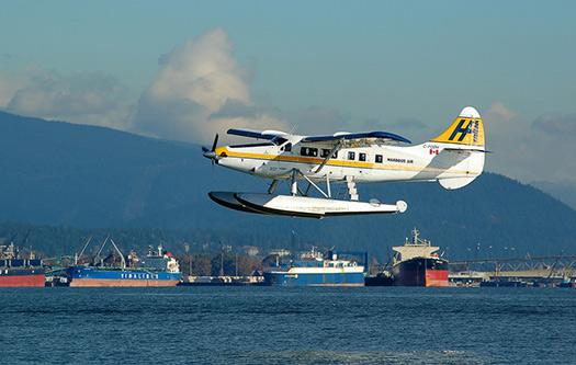 Seaplane in (Image: Tiberiu Ana)