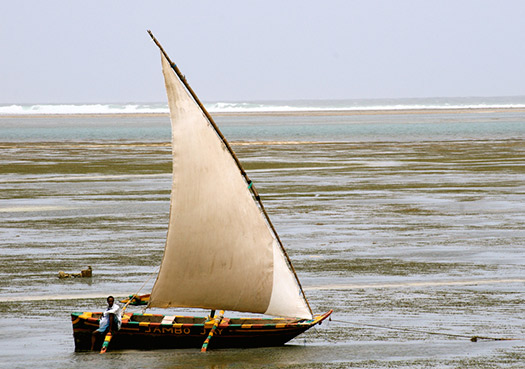 Swahili Dhow (Image: The Wandering Angel)