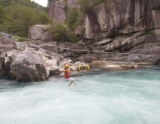 A zipwire (Image: Northwest Rafting Company)
