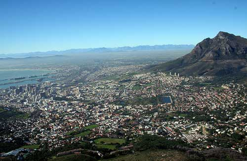 Cape Town (Image: H Dragon used under a Creative Commons Attribution-ShareAlike license)