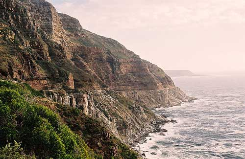 Chapman's Peak (Image: martie1swart used under a Creative Commons Attribution-ShareAlike license)