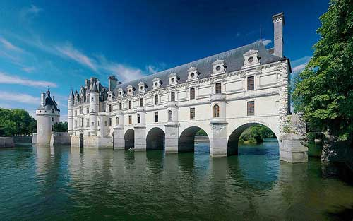 Chateau de Chenonceau (Image: Trodel used under a Creative Commons Attribution-ShareAlike license)