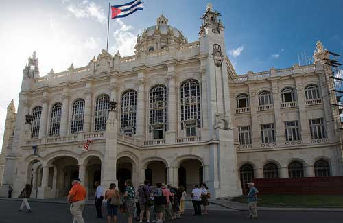 Museum of the Revolution in Havana, Cuba (Image: Makadaka)