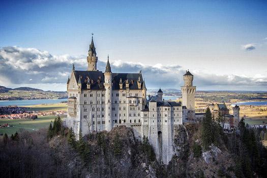 Castle Neuschwanstein (Image: mdid)