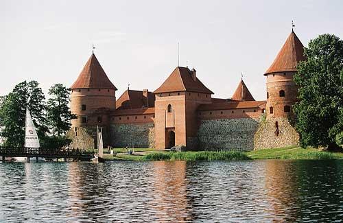 Trakai Castle (Image: Lee Fenner)