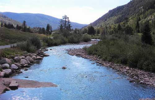 Gore Creek, Vail (Image: Luis Toro Denver, CO)