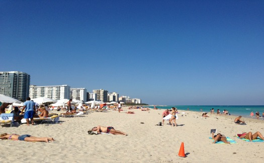 Fun activities done for free at Miami beaches