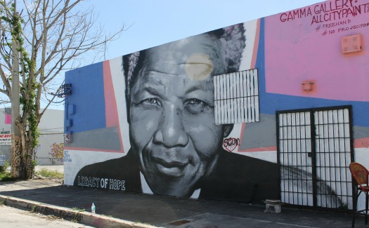 Freee things to do in Miami, including beautiful graffiti