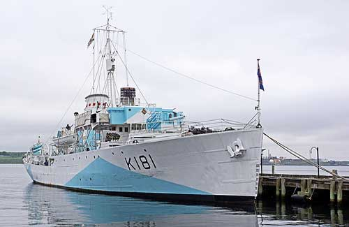 HMCS Sackville, a museum ship in Halifax (Image: archer10 (Dennis) used under a Creative Commons Attribution-ShareAlike license)