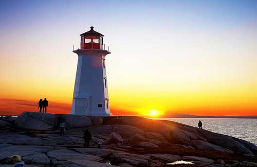 Peggys Point Lighthouse (Image: paul bica)