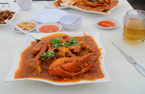 Chilli crab (Image: Kojach