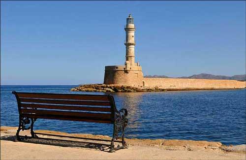 The Venetian Lighthouse in Chenia, Crete (Image: Romtomtom)