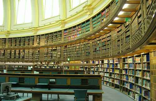 The Reading Room at the British Museum (Image: brewbooks used under a Creative Commons Attribution-ShareAlike license)