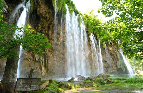Plitvice Falls, Croatia (Image: 29cm used under a Creative Commons Attribution-ShareAlike license)