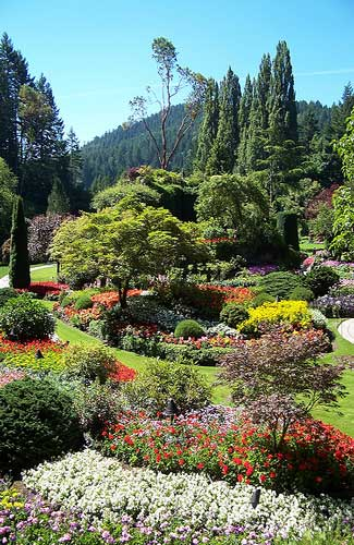 Buchart Garden (Image: anneh632 used under a Creative Commons Attribution-ShareAlike license)