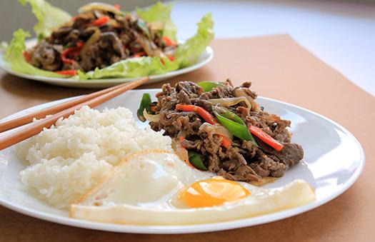 Beef bulgogi | Seoul, South Korea (Image: KFoodaddict)