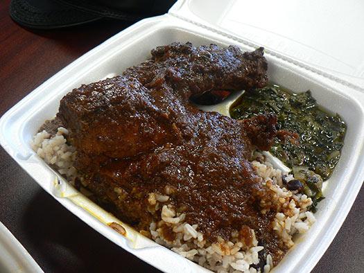 Jerk chicken | Kingston, Jamaica