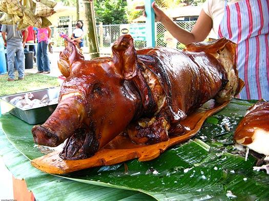 Lechón (suckling pig) | Cebu, Philippines (Image: dbgg1979)