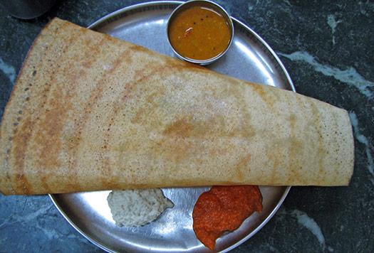 Masala dosa | Chennai, India (Image: mckaysavage)