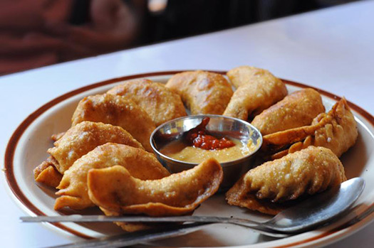 Fried momo (dumplings) | Kathmandu, Nepal (Image: LilyinNepal)
