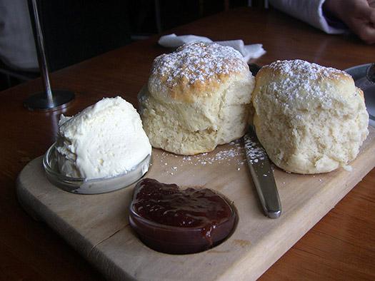 Scones, cream and jam | Dorset, England (Image: avlxyz)