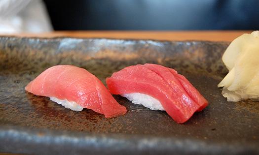 Tuna nigiri | Tokyo, Japan (Image: stu_spivack)