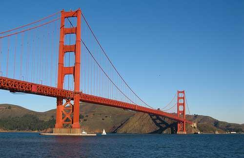 Golden Gate Bridge, San Francisco (Image: Salim Virji used under a Creative Commons Attribution-ShareAlike license)