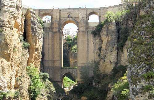 Puente Nuevo, Spain (Image: Keith Roper)