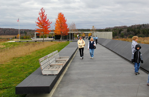 Part of the Flight 93 National Memorial, Shanksville, Penn., United States (Image: daveynin)