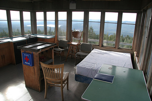 Clear Lake Butte Lookout (Image: Courtesy of US Forest Service)
