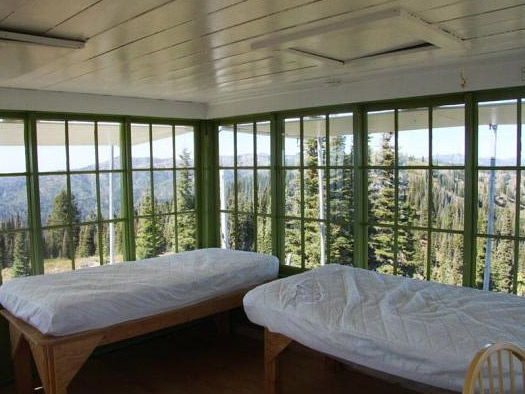 Deadwood Lookout Recreation Cabin (Image: Courtesy of US Forest Service)
