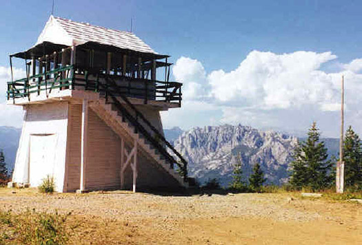 Girard Ridge Lookout (Image: Courtesy of US Forest Service)
