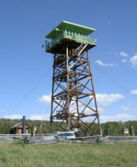 Jersey Jim Fire Lookout Tower (Image: Courtesy of US Forest Service)