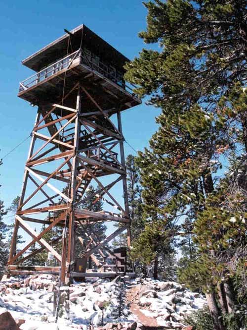 Spruce Mountain Fire Lookout (Image: Courtesy of US Forest Service)
